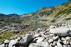 De bergen van Rila Stock Fotografie
