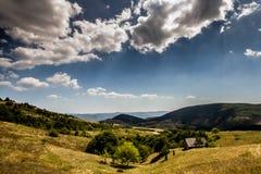 De bergen van Roemenië Stock Foto's
