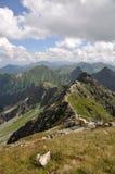 De bergen van Rohace Royalty-vrije Stock Afbeeldingen