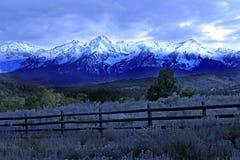 De bergen van San Juan Royalty-vrije Stock Fotografie