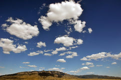 De Bergen van Sandia stock foto's