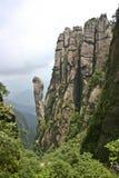 De bergen van Sanqing Stock Afbeeldingen