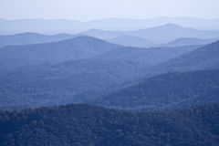 De Bergen van Shenandoah Royalty-vrije Stock Afbeelding