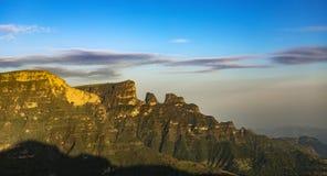 De Bergen van Simien, Ethiopië stock afbeeldingen