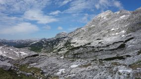 De bergen van Slovenië, julische alpen, triglav royalty-vrije stock afbeeldingen