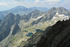 De bergen van Slowakije Royalty-vrije Stock Foto