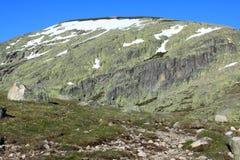 De bergen van sneeuwgredos Royalty-vrije Stock Foto