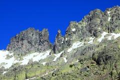 De bergen van sneeuwgredos in avila Royalty-vrije Stock Fotografie
