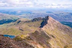 De Bergen van Snowdonia Royalty-vrije Stock Fotografie