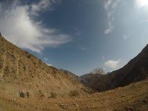 De bergen van Tadzhikistan Stock Fotografie