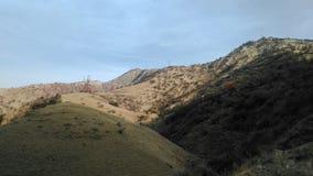 De bergen van Tadzhikistan Stock Afbeelding