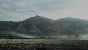 De bergen van Tadzhikistan Stock Foto