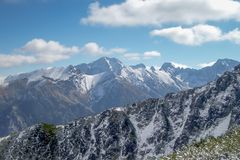 De bergen van Tatra Stock Afbeelding