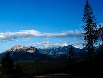 De bergen van Tatra Royalty-vrije Stock Foto's