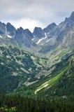 De bergen van Tatras Stock Fotografie