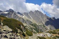De bergen van Tatry Royalty-vrije Stock Afbeeldingen