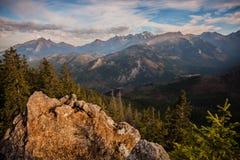 De bergen van Tatry Royalty-vrije Stock Afbeelding