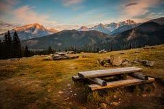 De bergen van Tatry Stock Fotografie