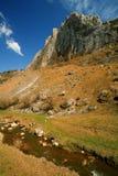 De Bergen van Trascau royalty-vrije stock afbeelding