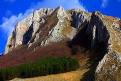 De Bergen van Trascau stock afbeelding