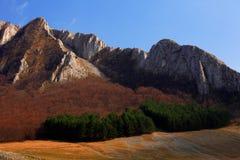 De Bergen van Trascau royalty-vrije stock afbeeldingen