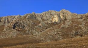De Bergen van Trascau, Roemenië royalty-vrije stock foto's