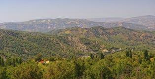 De Bergen van Troodos, Cyprus Stock Fotografie