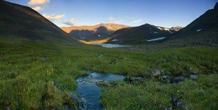De bergen van Ural royalty-vrije stock fotografie