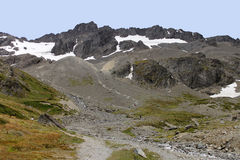 De Bergen van Ushuaia Stock Fotografie
