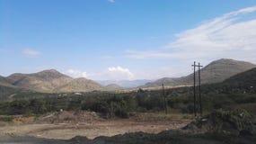 De bergen van Zuid-Afrika Royalty-vrije Stock Foto's