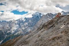 De bergen van Zwitserland in nationaal park Royalty-vrije Stock Foto's