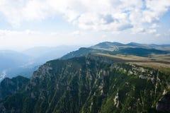 De bergenlandschap van Bucegi Royalty-vrije Stock Foto's