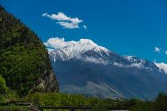 De bergenlandschap van Georgië Royalty-vrije Stock Fotografie