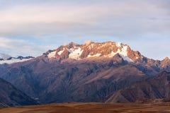 De bergenmening van de Andes Royalty-vrije Stock Foto's
