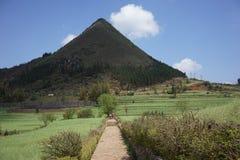 De berggebieden Stock Afbeelding