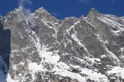 De berghelling van de Muur van de sleeplijn Royalty-vrije Stock Foto