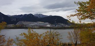 De bergindustrie stock foto