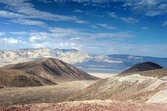 De Bergketen in het Nationale park van de Doodsvallei in Californië, Stock Afbeelding