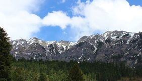 De Bergketen Ouray, Co van San Juan stock afbeelding