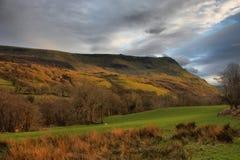 De bergketen van cadairidris in snowdonia Royalty-vrije Stock Fotografie
