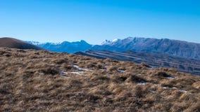 De bergketen van de Kaukasus Royalty-vrije Stock Afbeelding