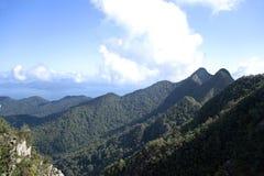 De Bergketen van het Eiland van Langkawi Stock Afbeeldingen