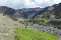 De Bergketen van Himalayagebergte Stock Afbeeldingen