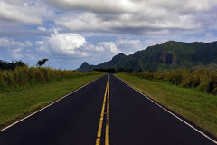 De Bergketen van Huleia Stock Foto