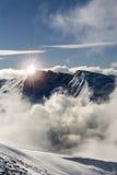 De bergketen van Rila. Stock Afbeeldingen