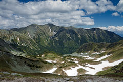 De bergketen van Rohace Stock Afbeelding