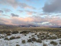 De Bergketen van de zaagtand in Idaho stock foto's