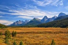 De berglandschap van de herfst Nationale reserve Karadag Stock Foto's
