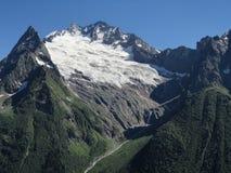 De berglandschap van de zomer Royalty-vrije Stock Foto