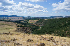 De berglandschap van Divcibare Stock Foto